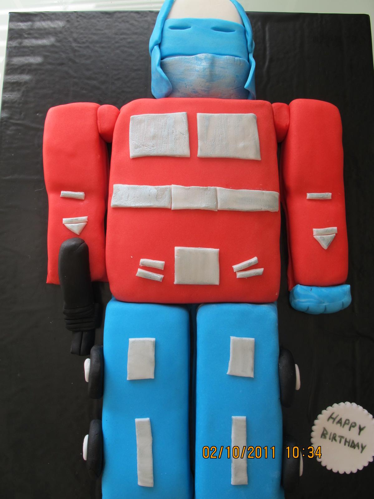 Kocaman Transformers Pasta