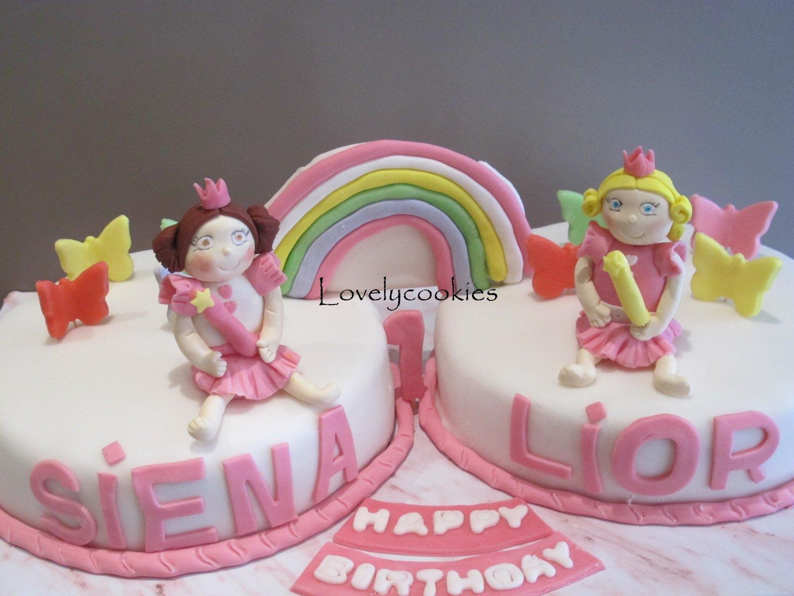 Kız Çocuklarına Özel Doğum Günü Pastaları